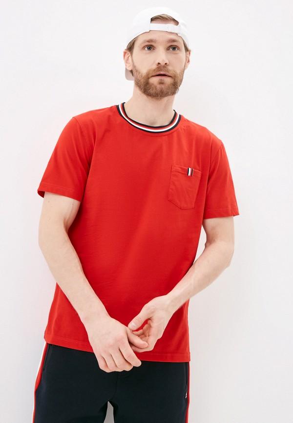 мужская спортивные футболка luhta, красная