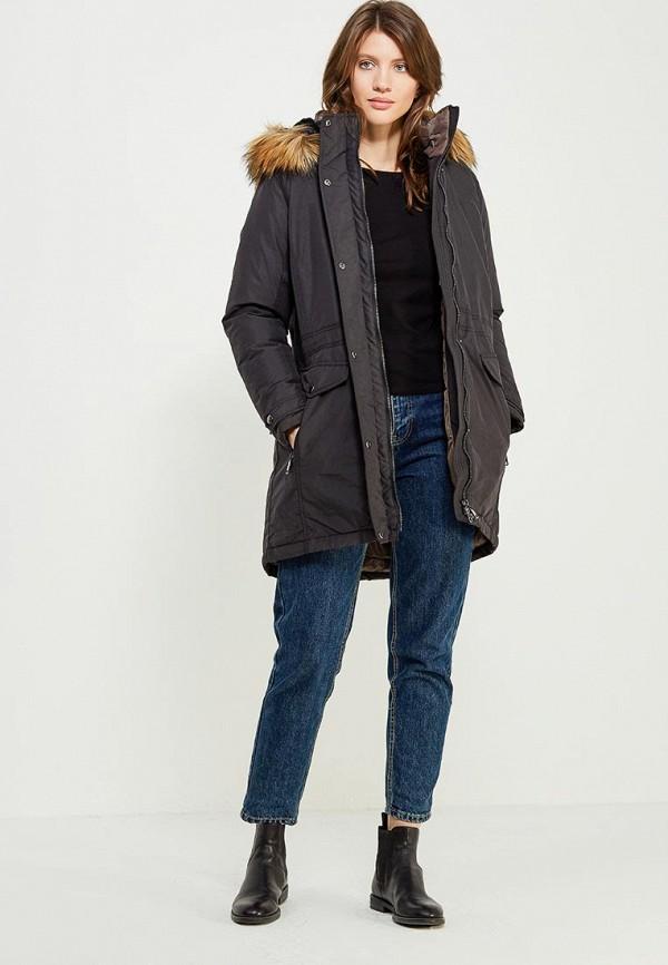 Фото 6 - Куртку утепленная Luhta черного цвета