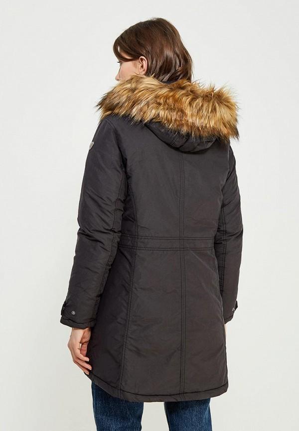 Фото 7 - Куртку утепленная Luhta черного цвета