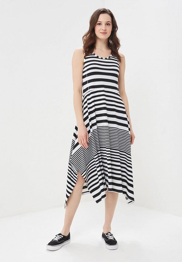 женское повседневные платье luhta, белое