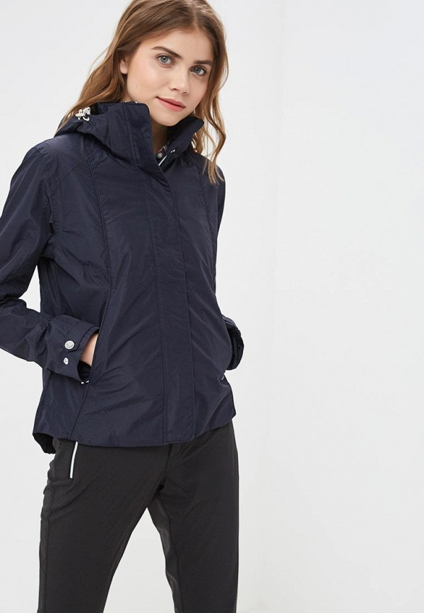 женская куртка luhta, синяя