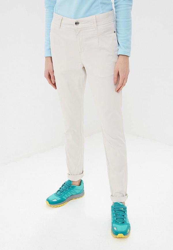 женские спортивные брюки luhta, бежевые