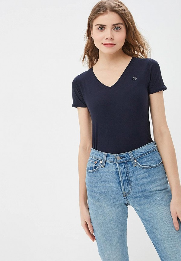 женская спортивные футболка luhta, синяя