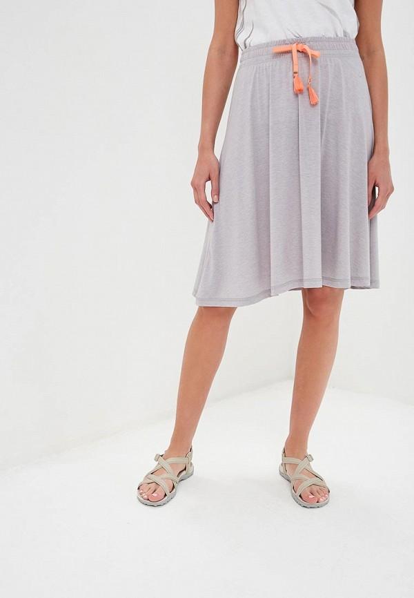 женская спортивные юбка luhta, серая