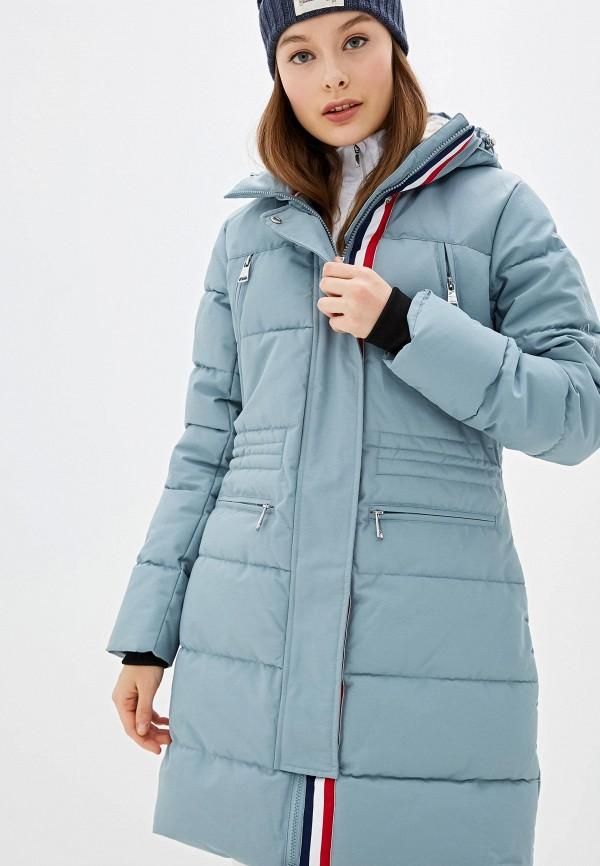 женская куртка luhta, бирюзовая