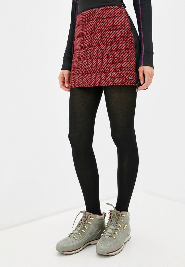 женская спортивные юбка luhta, красная