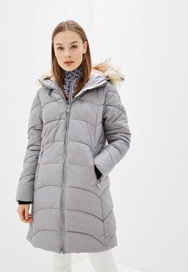 женская куртка luhta, серая