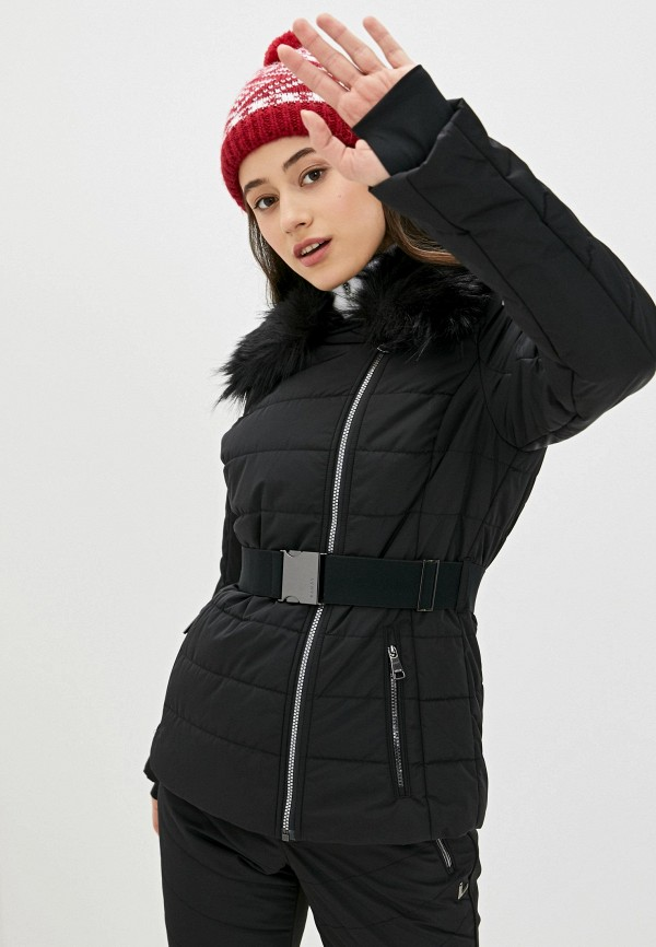 Фото - Куртку горнолыжная Luhta черного цвета