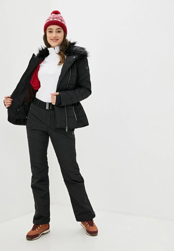 Фото 2 - Куртку горнолыжная Luhta черного цвета