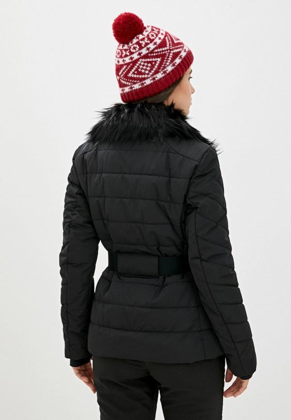 Фото 3 - Куртку горнолыжная Luhta черного цвета
