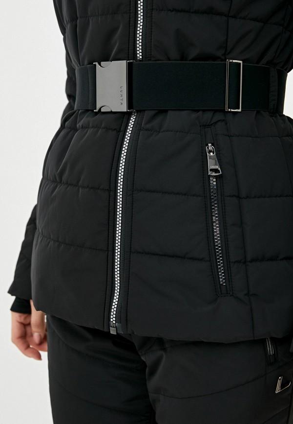 Фото 5 - Куртку горнолыжная Luhta черного цвета