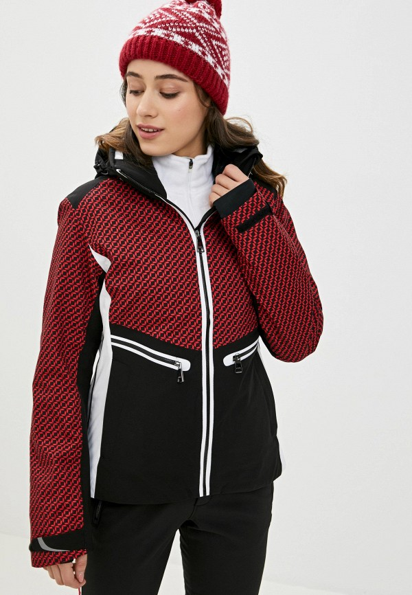 женская куртка luhta, красная