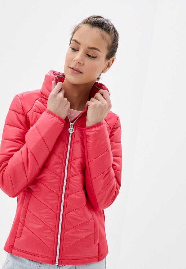 женская куртка luhta, розовая