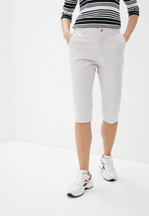 Фото - Женские шорты Luhta серого цвета