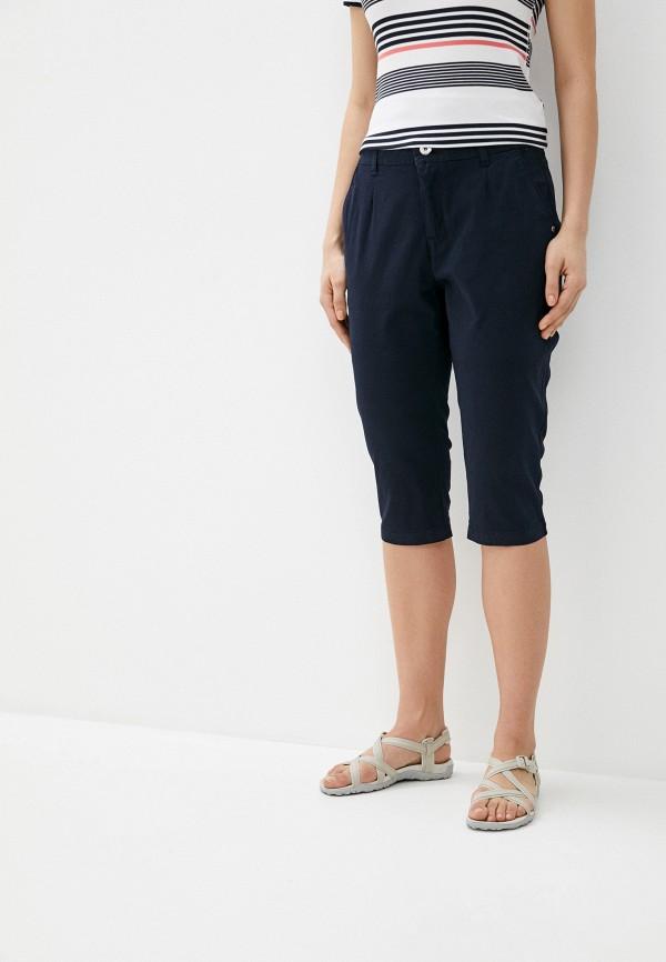 женские повседневные шорты luhta, синие
