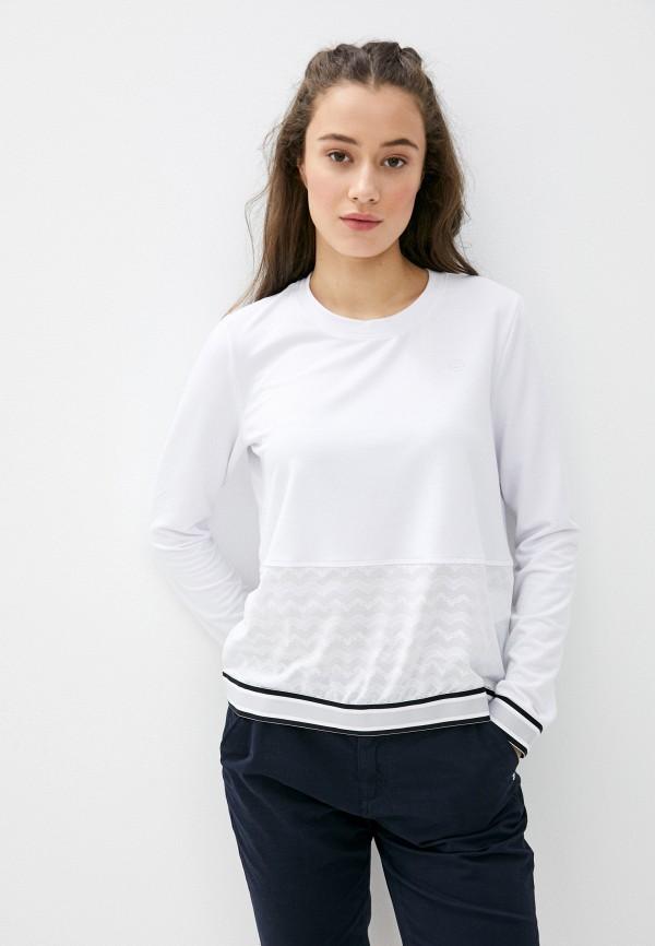 женский свитшот luhta, белый
