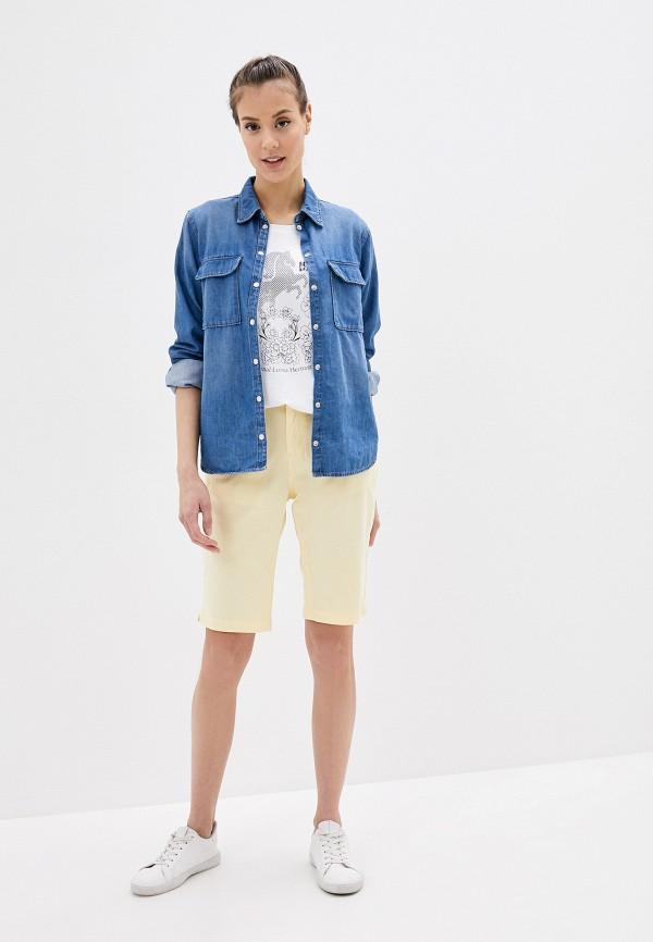 Фото 2 - Женскую футболку Luhta белого цвета