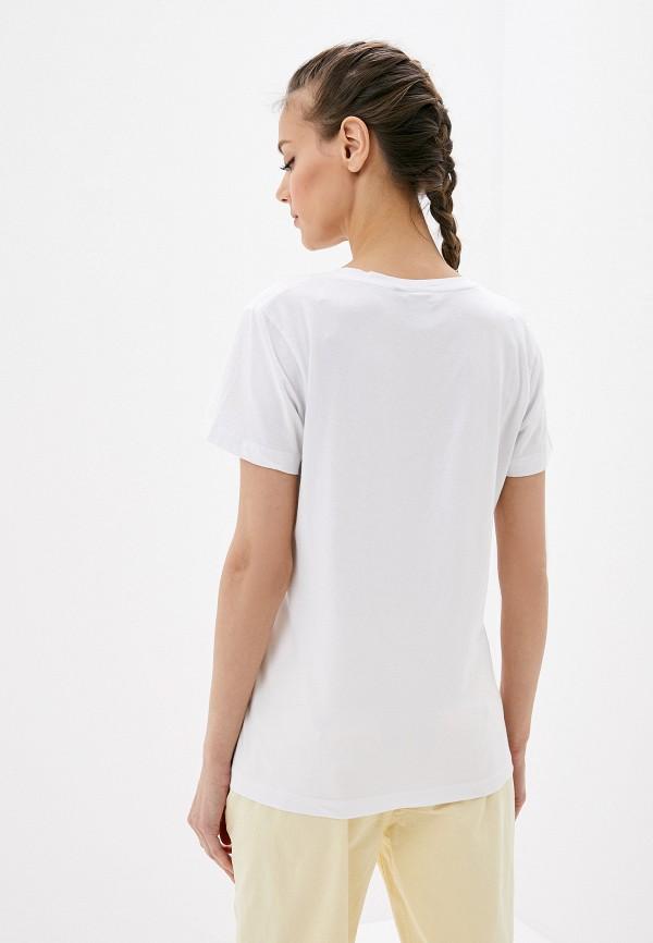 Фото 3 - Женскую футболку Luhta белого цвета
