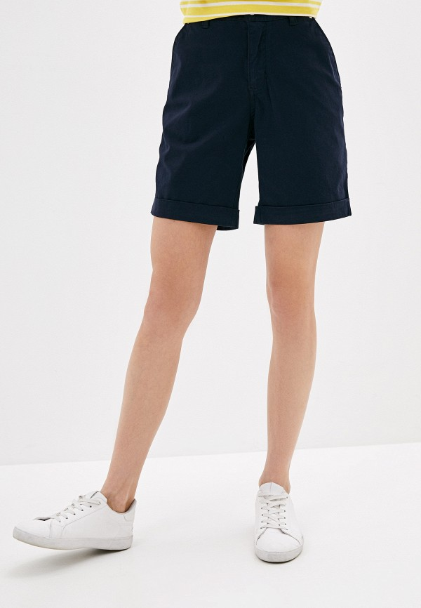 женские шорты luhta, синие