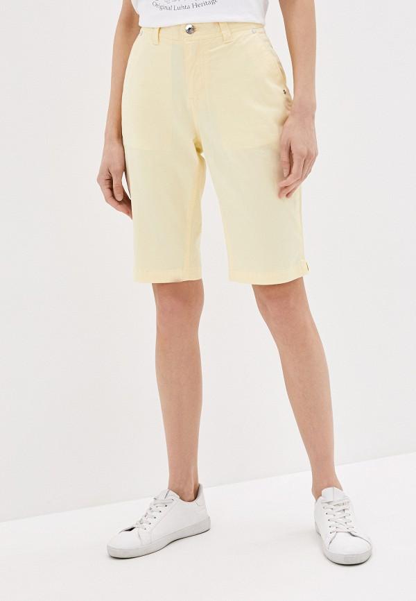 женские шорты luhta, желтые