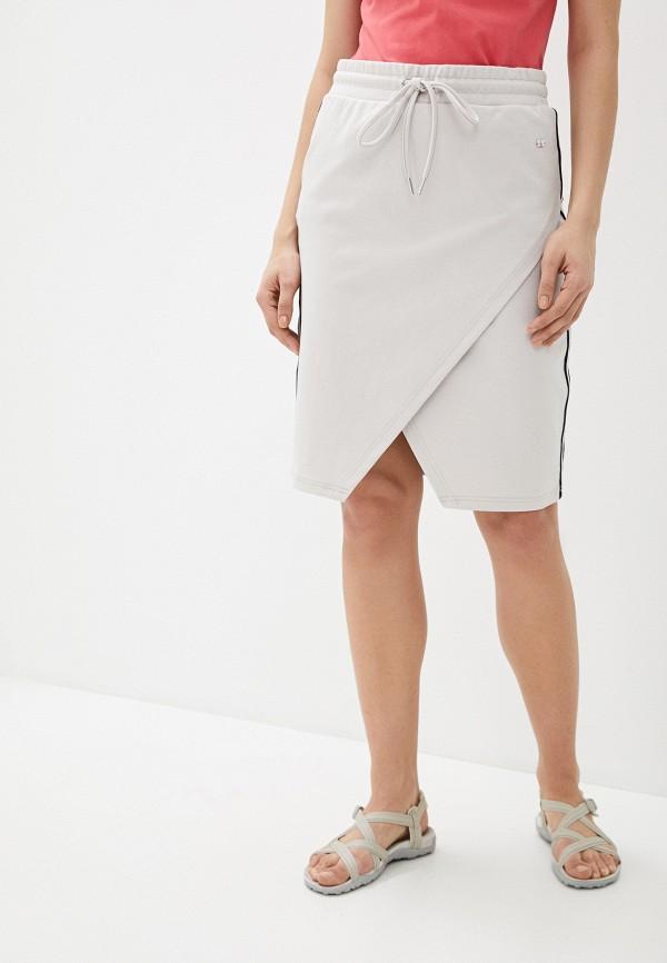 женская спортивные юбка luhta, бежевая