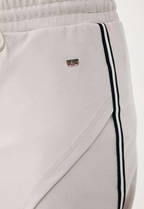Фото 4 - Женскую юбку Luhta бежевого цвета