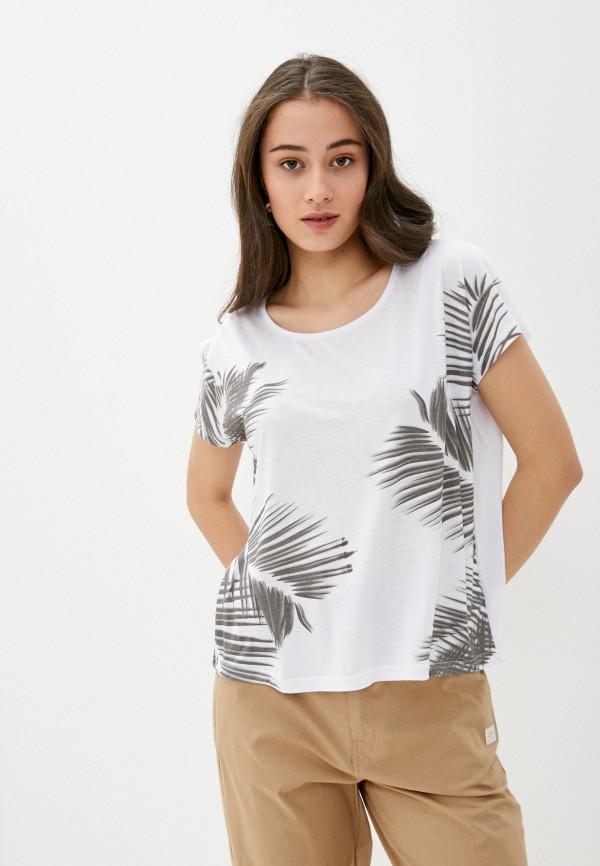 женская спортивные футболка luhta, белая