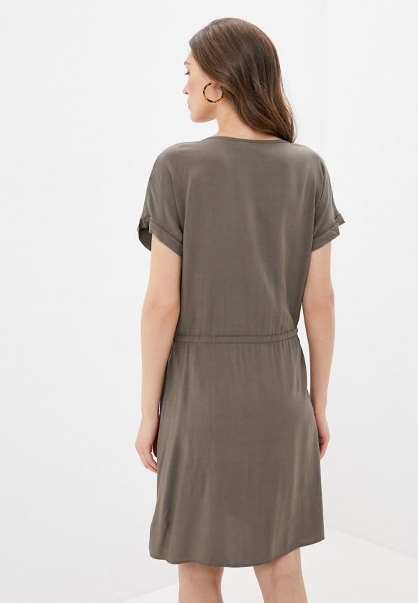 Фото 3 - Женское платье Luhta цвета хаки