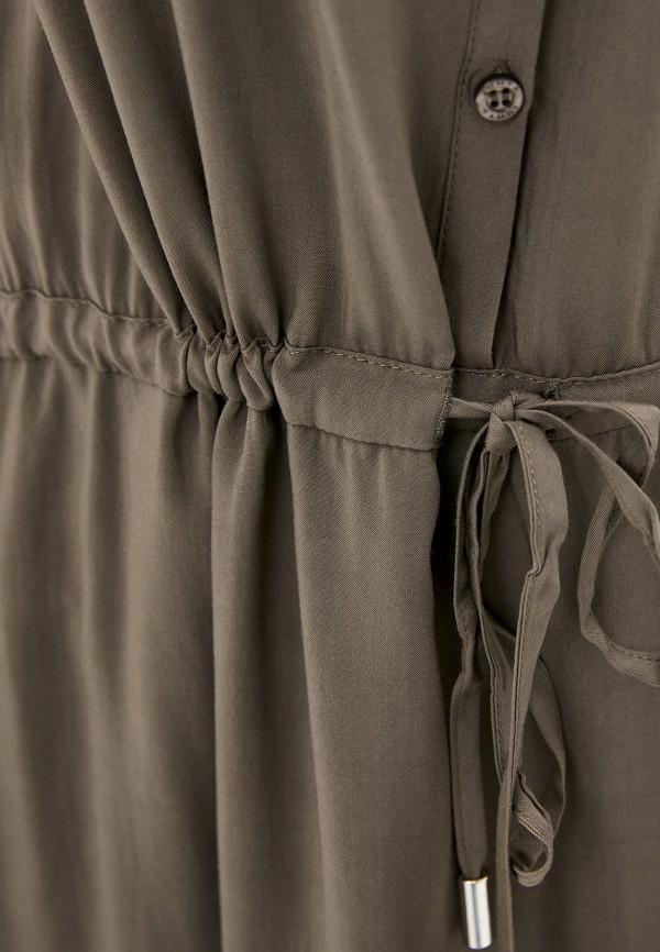 Фото 4 - Женское платье Luhta цвета хаки
