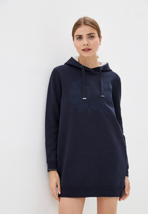 женское спортивные платье luhta, синее