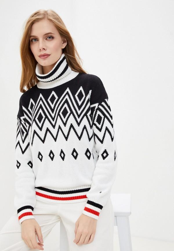 женский свитер luhta, белый