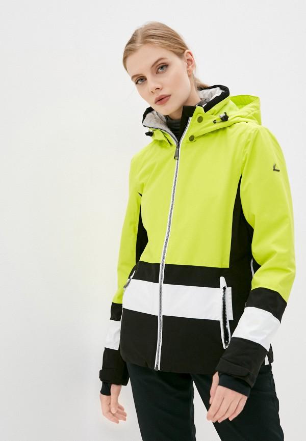 женская куртка luhta, желтая