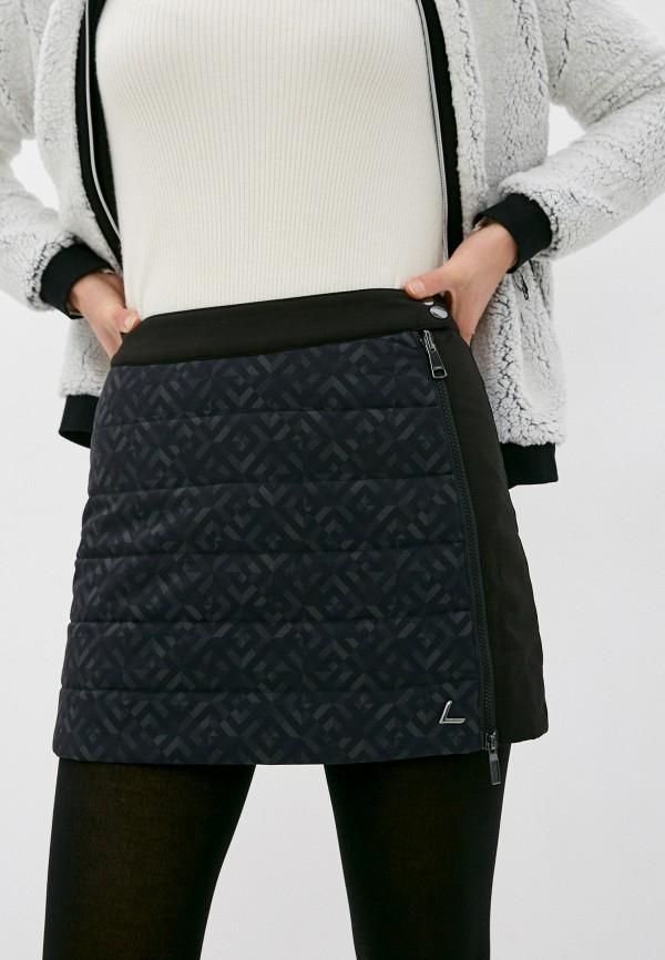 женская спортивные юбка luhta, черная