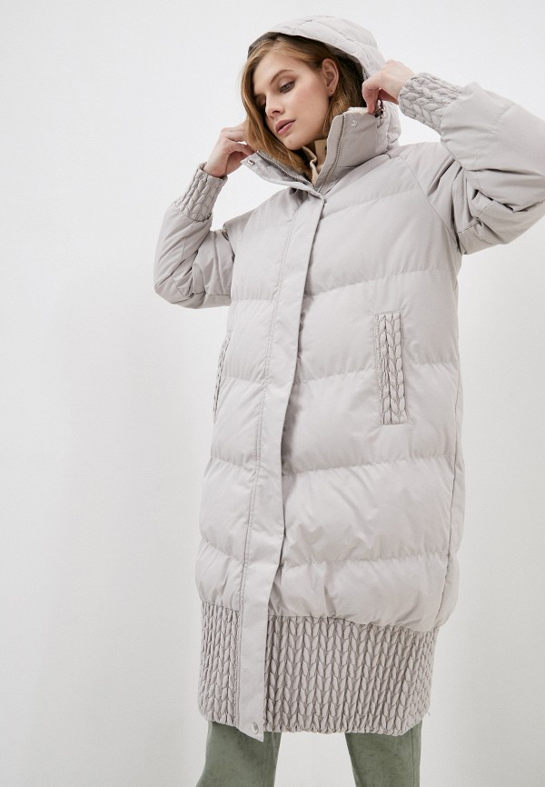 женская куртка luhta, бежевая