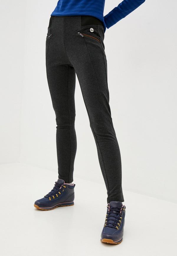 женские спортивные леггинсы luhta, серые