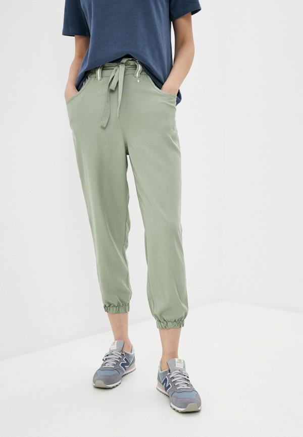 женские брюки luhta, зеленые
