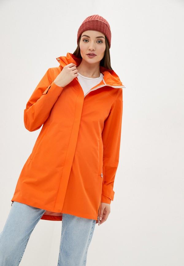 женская ветровка luhta, оранжевая