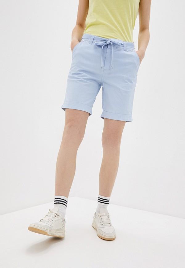 женские шорты luhta, голубые