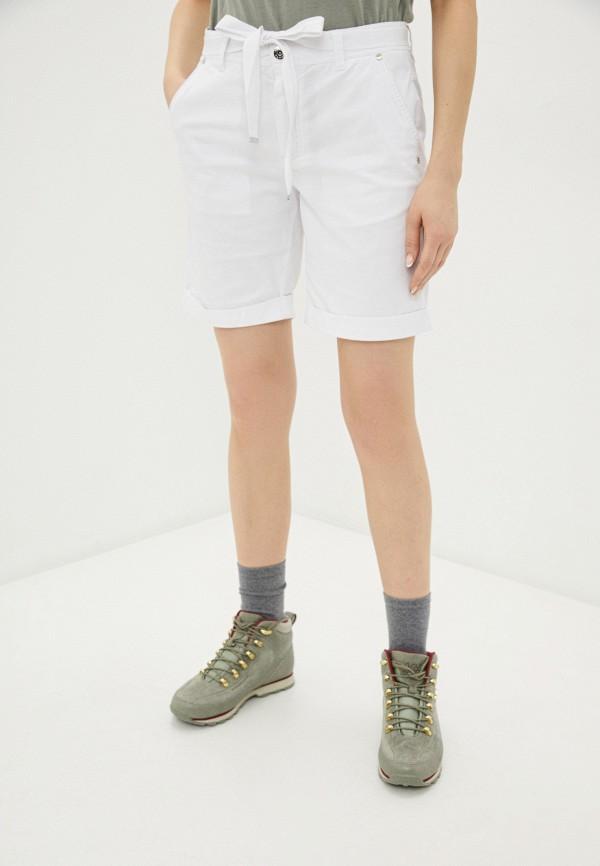 женские шорты luhta, белые