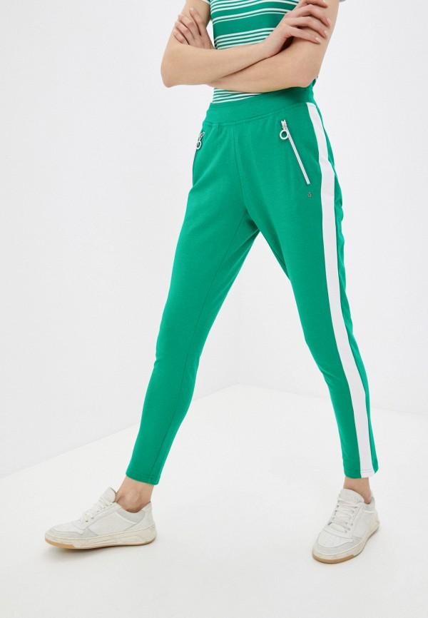 женские спортивные брюки luhta, зеленые