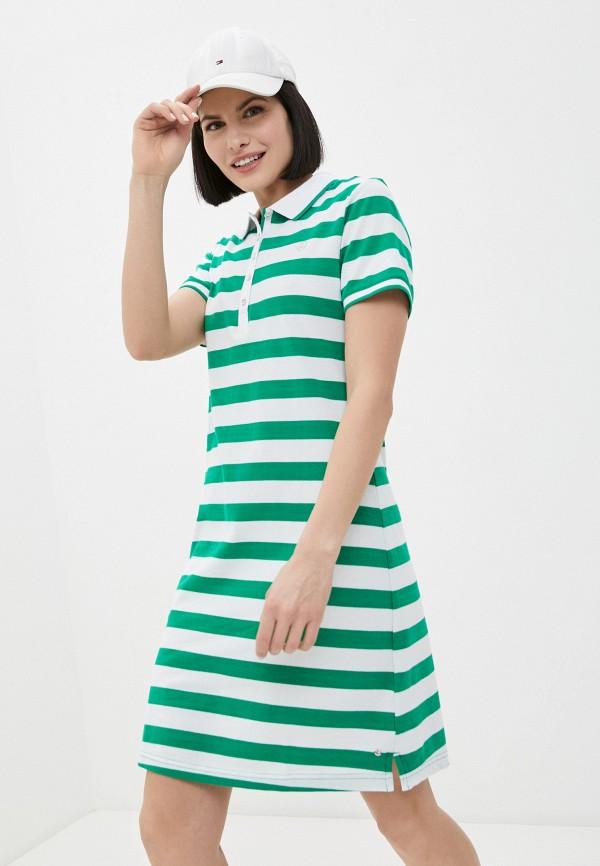женское спортивные платье luhta, зеленое