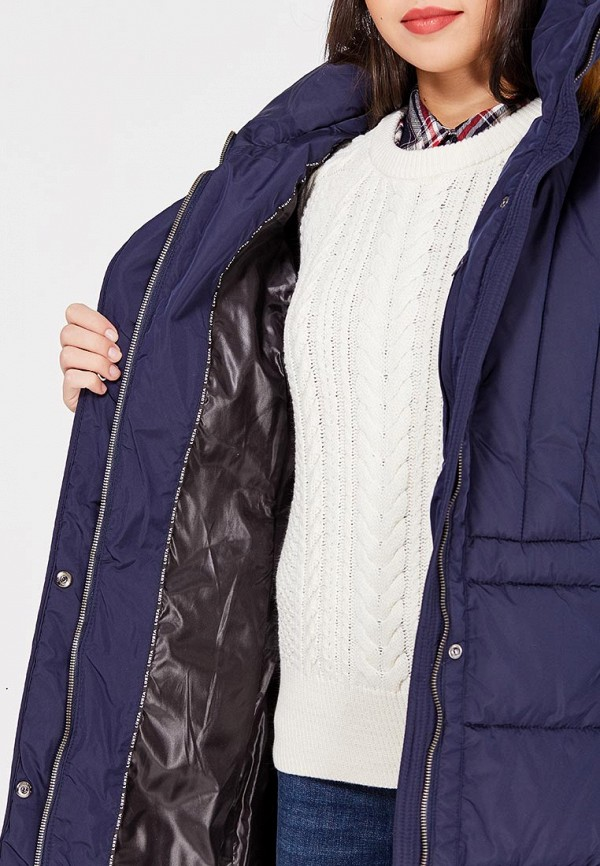 Фото 4 - Куртку утепленная Luhta синего цвета