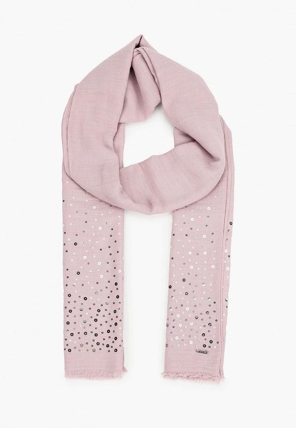 женский палантин luhta, розовый