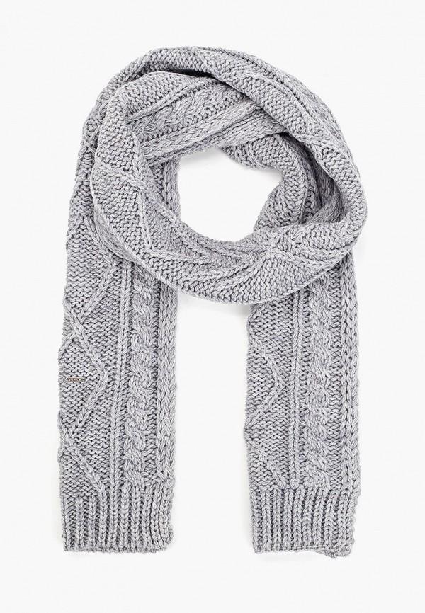 женский шарф luhta, серый