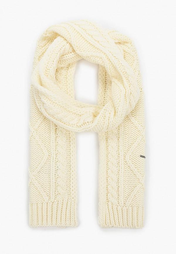 женский шарф luhta, белый