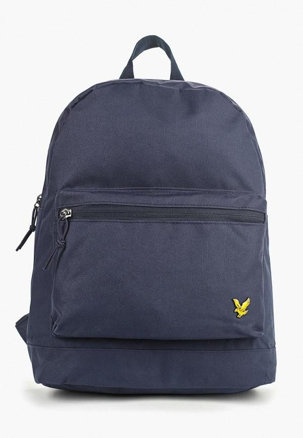 мужской рюкзак lyle & scott, синий