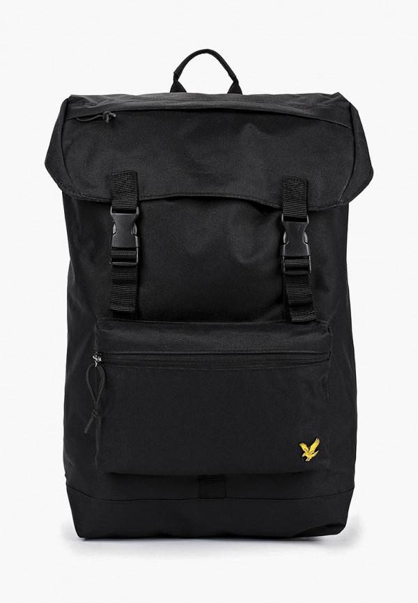 мужской рюкзак lyle & scott, черный