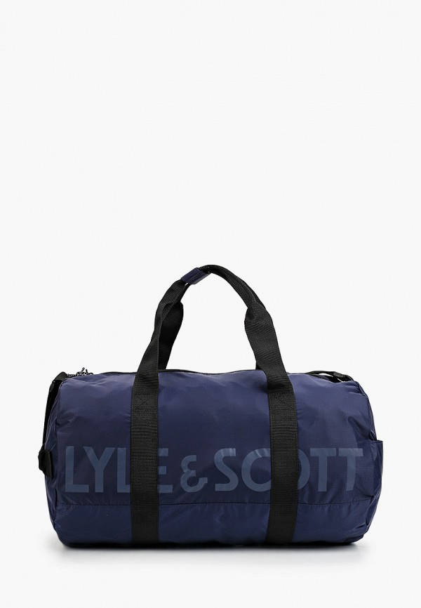 мужская сумка lyle & scott, синяя