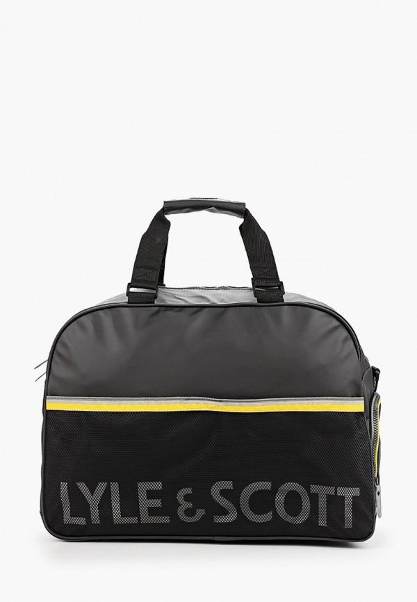 мужская сумка lyle & scott, черная