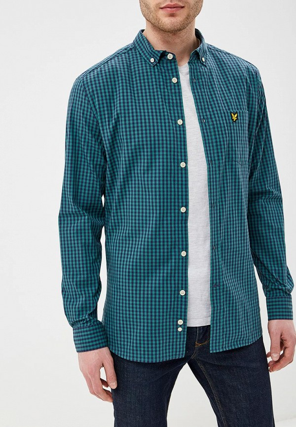 Рубашка Lyle & Scott Lyle & Scott LY001EMEAVF6 scott scott mtn 80 светло зеленый